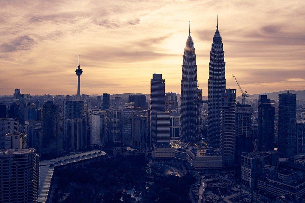 malaysia, kuala lumpur, sunset